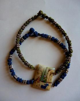 Bracelet maedup et miniature persane claudine gillot