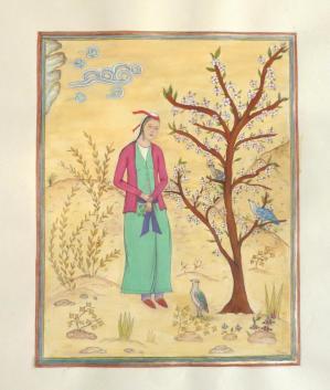 La servante et les oiseaux de paradis moni 12